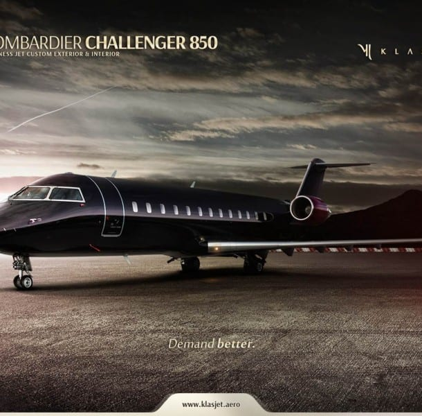 aviation d'affaires : le Challenger 850